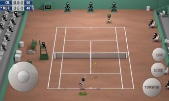 Stickman Tennis - Career APK MOD imagen 3