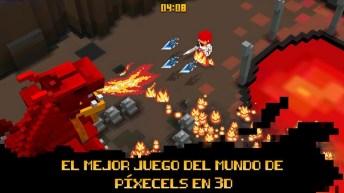 Cube Knight Battle of Camelot APK MOD imagen 1