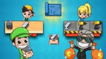 Idle Factory Tycoon APK MOD imagen 4