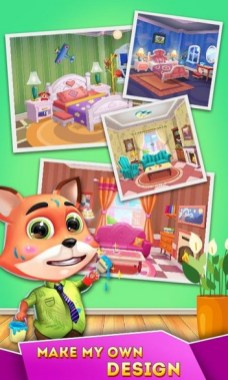 Cat Runner Decorate Home APK MOD imagen 3