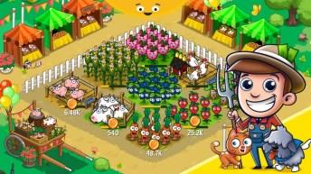 Idle Farming Empire APK MOD imagen 1