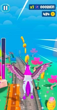 Unicorn Runner 3D - Horse Run APK MOD imagen 1