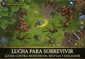 tormfall Saga of Survival APK MOD imagen 4