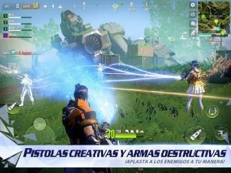 Cyber Hunter APK MOD imagen 4