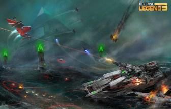 Defense Legend 3 Future War APK MOD imagen 4