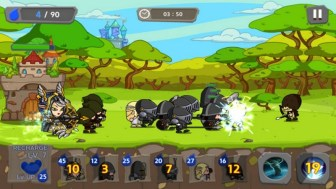 Royal Defense King APK MOD imagen 1