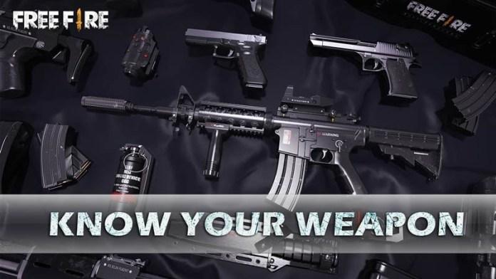Conoce a tu arma en free fire