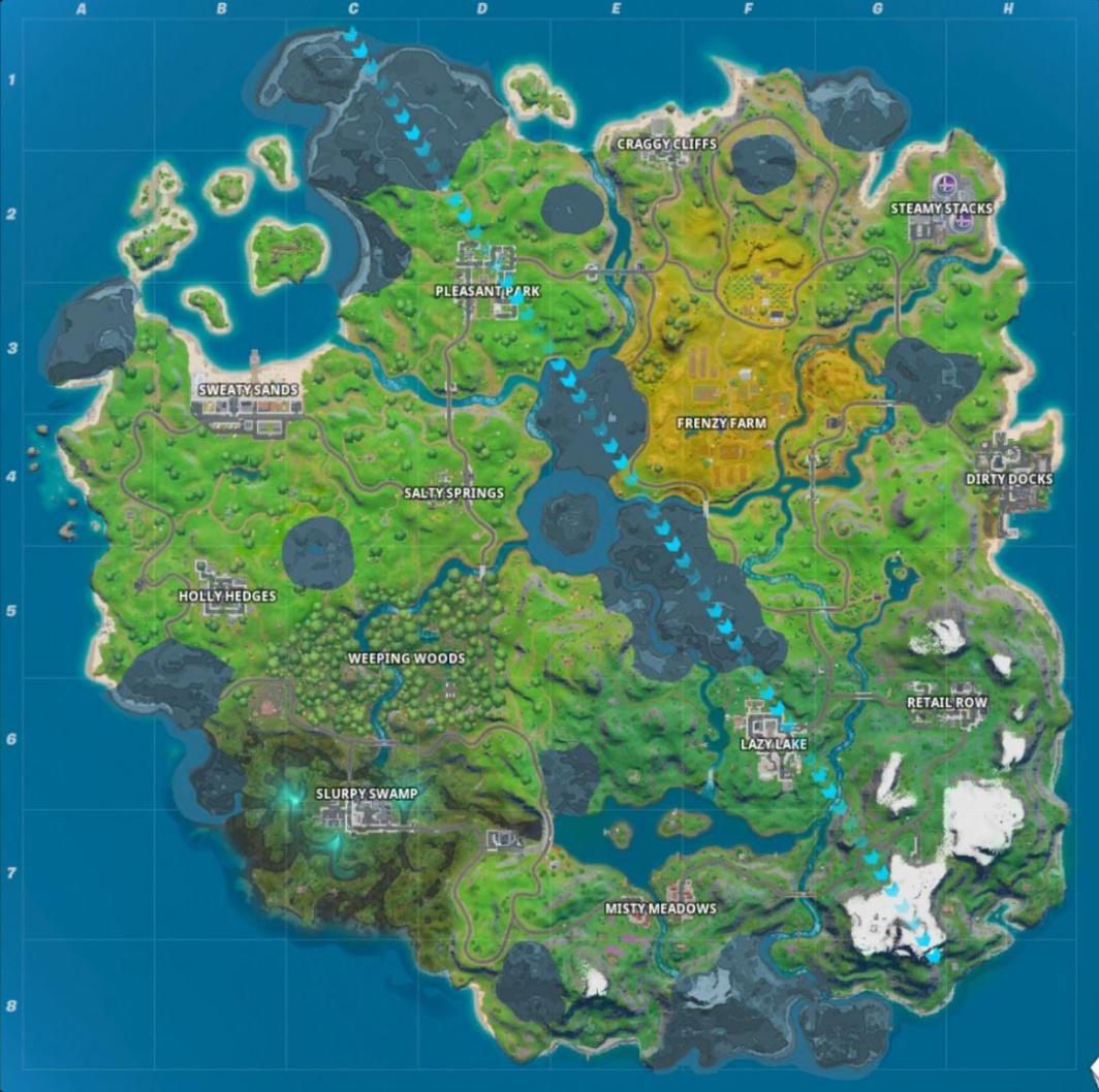 Los Mejores Lugares De Aterrizaje En Fortnite Capítulo 2 Mundoplayers
