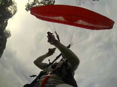 Primeiro vôo solo do Roy em Rio dos Cedros - SC