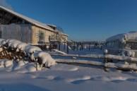 Só frio e neve