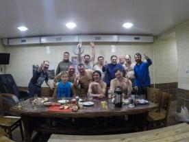 Banya, sauna russa para homens em Magadan