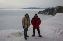 Oleg nos levou para um passeio em Magadan