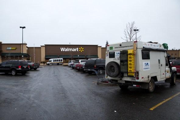 Estacionamento do Walmart - Estados Unidos