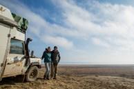 Mundo por Terra no Mar de Aral