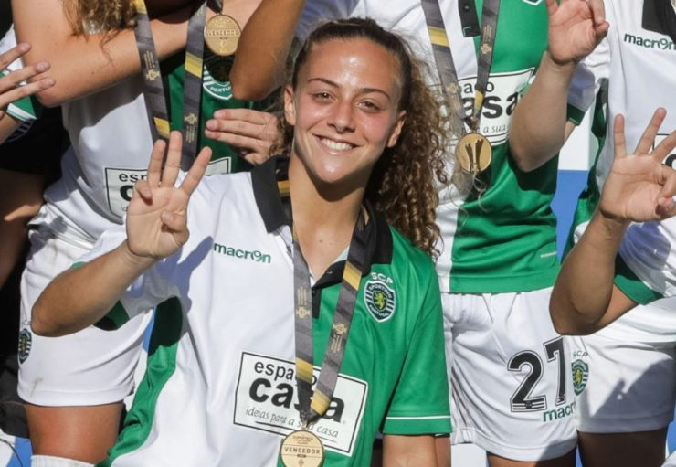 """Matilde Fidalgo em entrevista: """"O futebol sempre foi o meu desporto de eleição"""""""