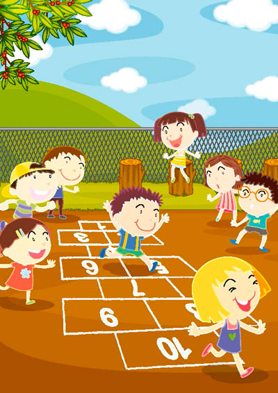 8 juegos de patio tradicionales y sus