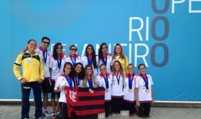 Equipe de nado (Foto: Site Oficial)