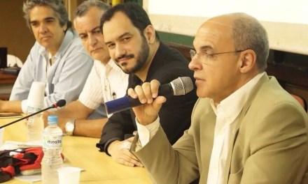 """Em palestra na FACC/UFRJ, Bandeira de Mello afirma: """"Hoje o Flamengo é credor do Ministério do Trabalho"""