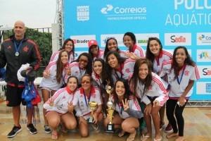 Equipe Sub19 campeã brasileira (Foto Flamengo)