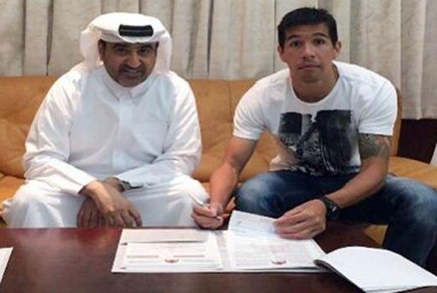 Cáceres assina com o Al-Rayyan | Foto Divulgação