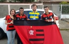 Jade Morais, Rava Ogawa, Ravier Carvalho e Warlisson Santos: A turma que organiza | Foto Rava Ogawa