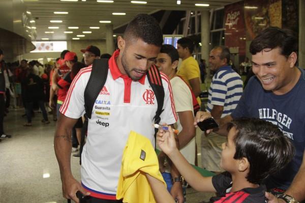 Kayke é a esperança de gols.   Foto Gilvan de SouzaFlamengo