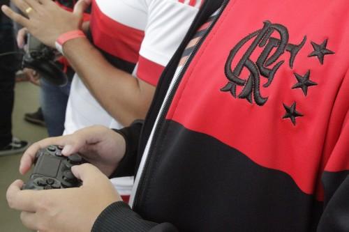 STs testam o game. | Foto Flamengo