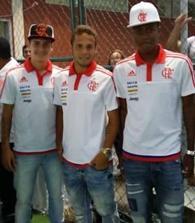 Sávio, Baggio e Jajá marcando presença no evento. Foto: Talita Nunes/MRN_CRF