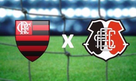 Com mudanças, Flamengo enfrenta o Santa Cruz neste domingo