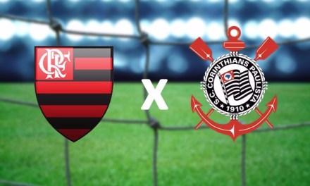 Flamengo e Corinthians duelam pelas oitavas da Taça BH Sub-17