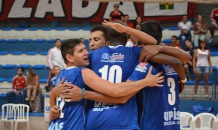 UPIS/Brasília imprime forte poder de reação e vence o Flamengo