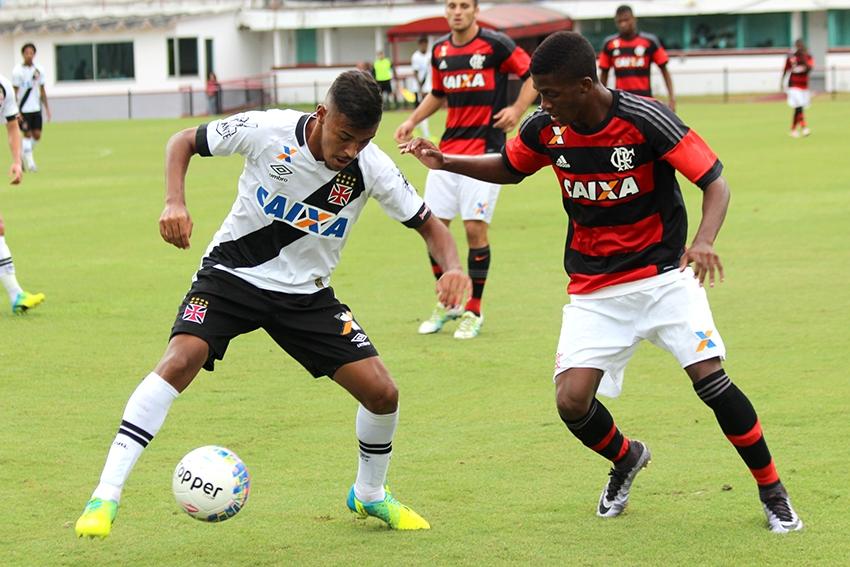 Sub-20: Matheus Sávio se destaca e Fla, com um jogador a menos, vence o Vasco pela Taça Rio