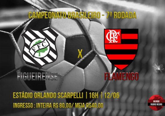 Ingressos – Figueirense x Flamengo