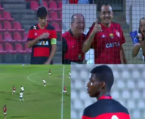 Invicto, porém eliminado: Mengão está fora da Taça BH Sub-17
