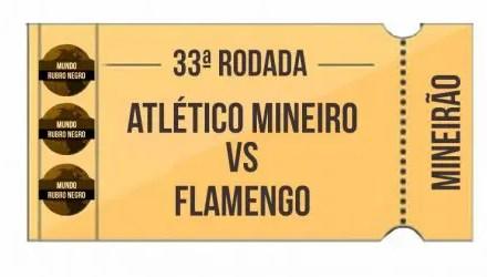 Ingressos – Atlético-MG x Flamengo