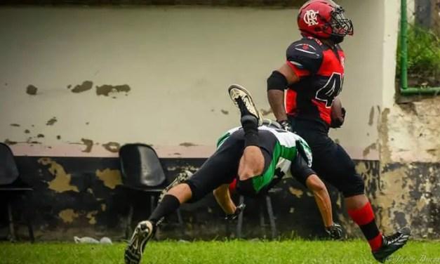 Flamengo, invicto na temporada regular, vence o Reptiles e garante mando de campo nos playoffs