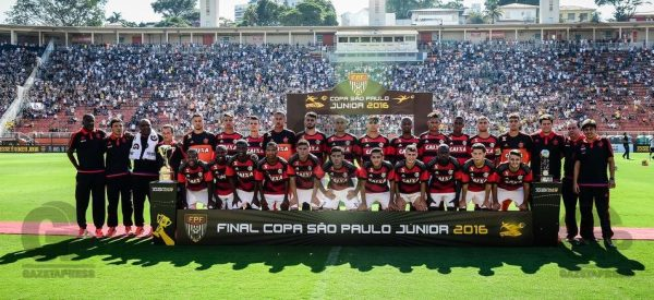 Corinthians X Flamengo, final, 47 Copa Sao Paulo de Junior, Pacaembu, Sao Paulo SP, 25/01/2016, Foto: Fernando Dantas/Gazeta Press