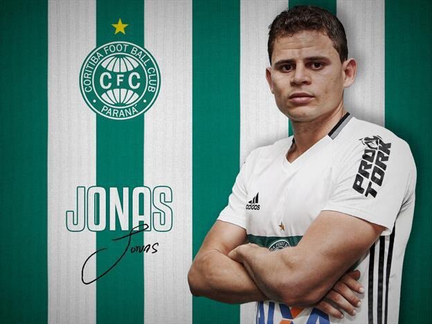 Coritiba confirma chegada de Jonas por empréstimo