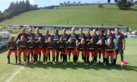 Flamengo/Marinha enfrentou a Seleção Brasileira Feminina em amistoso