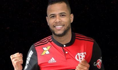 1, 2, 3, e… vestiu o Manto é nosso! Geuvânio enfim é anunciado pelo Flamengo