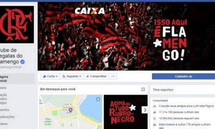 Flamengo lidera crescimento em redes sociais no primeiro semestre de 2017