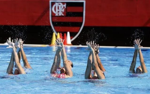 nado artístico flamengo panamericano