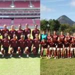 Dose dupla de Futebol Feminino do Flamengo no CEFAN neste sábado