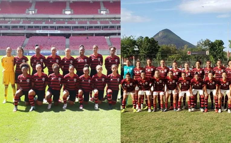 Futebol Feminino do Flamengo faz 16 gols em dois jogos nesta quinta-feira