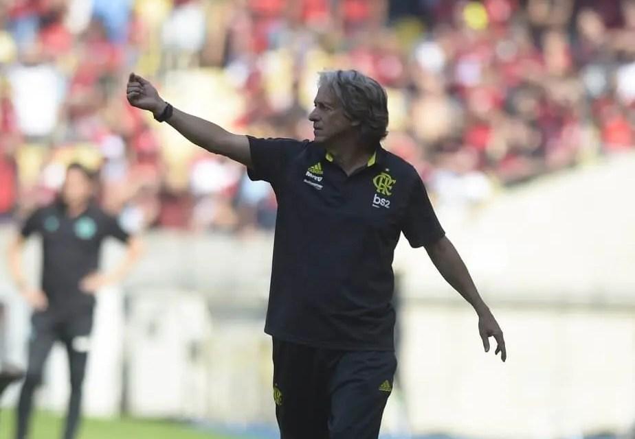 Em entrevista, Jorge Jesus admite que seu foco era o Brasileiro, até a classificação contra o Emelec