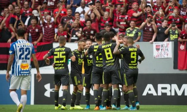 Notas e atuações de Avaí 0×3 Flamengo