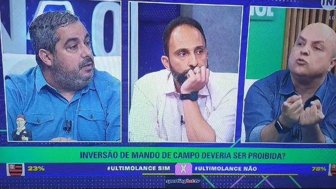 mando de campo imprensa flamengo avaí