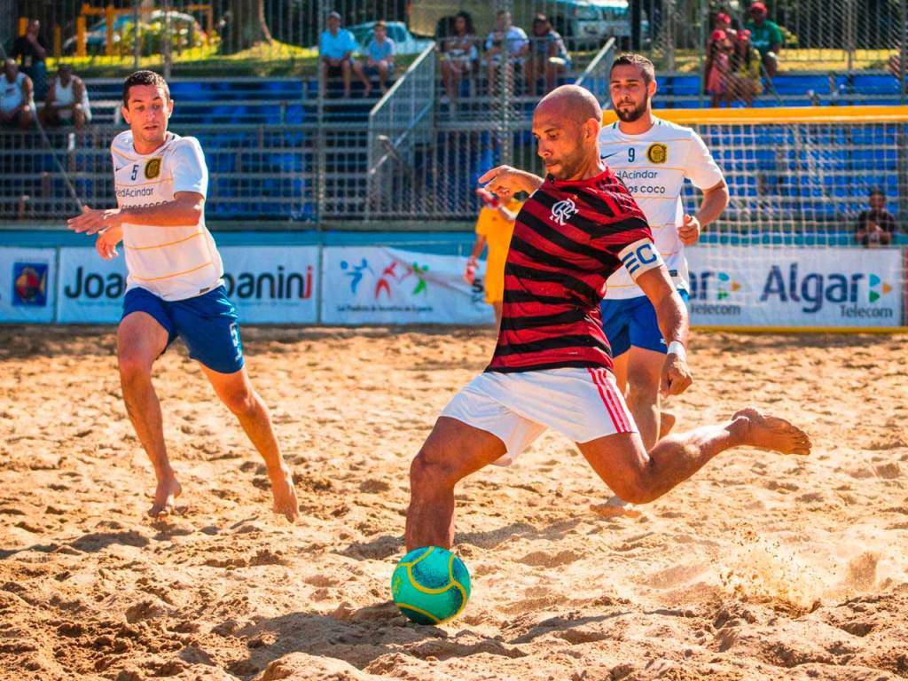 Flamengo Beach Soccer: Paulinho retorna após brilhar na Rússia.