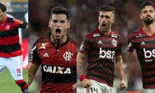 Conheça todos os estrangeiros que marcaram com a camisa do Flamengo na Libertadores