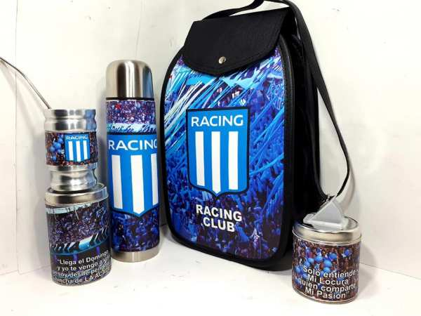 Set matero del Club Racing colección FAR
